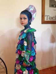 book rainbow fish costume felt fabric scales sewn