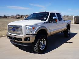 Ford King Ranch Diesel Truck - off road ready used 2012 ford f250 6