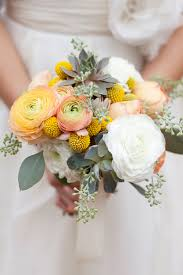 ranunculus bouquet and yellow succulent and ranunculus bouquet elizabeth
