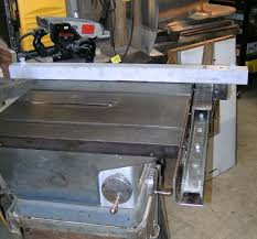 diy biesemeyer table saw fence homemade table saw rip fence build