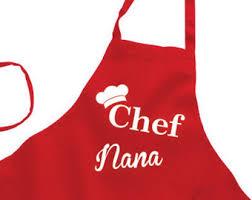personalized apron etsy