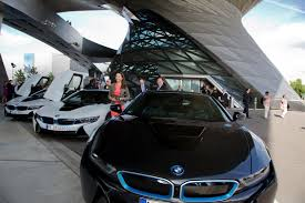 bmw museum inside first bmw i8s delivered at welt museum laser headlight war won