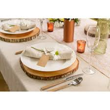 wood centerpieces david tutera wood slice centerpiece charger