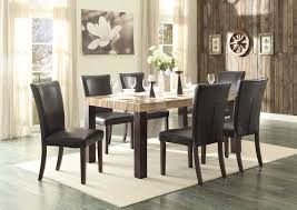 faux marble top dining table set modest ideas faux marble dining