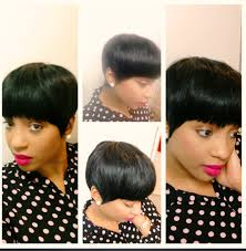 how to mold and style short hair 2015 short classy mushroom quickweave haircut youtube