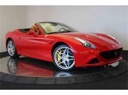 Ferrari California 2016 - 2016 ferrari california for sale classiccars com cc 981245