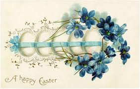 vintage pretty easter eggs image the graphics fairy