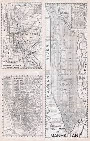 Manhattan New York Map by Large Scaled Printable Old Street Map Of Manhattan New York City