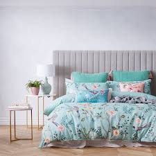 Duck Egg Blue Bed Linen - quilt covers sets coverlets u0026 doona covers adairs