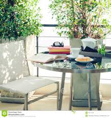 book on table outdoor terrace home decoration stock photo image bakery book coffee decoration home outdoor