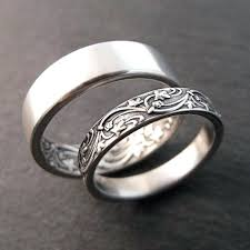 cool wedding rings unique wedding rings for him and sterlg cool wedding bands for