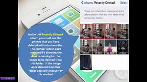 how to recover deleted photos from your iphone ios u0026 iphone