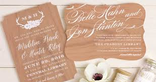 custom invites basic invite wedding invitations for design on a budget