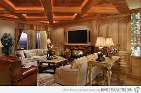 traditional livingroom 15 beautiful traditional coffered ceiling living rooms home