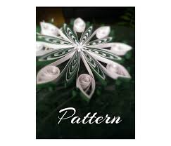 quilling designs tutorial pdf paper quilling pattern qd4 diy pdf instant by evascreation