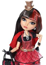 amazon com ever after high hat tastic cerise hood doll