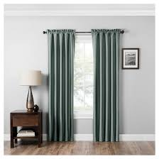 Eclipse Kendall Curtains Miles Thermaback Blackout Curtain Panel Eclipse Absolute Zero