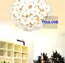 Flower Pendant Light White Flower Pendant Light White Paper Flower Pendant Light Or