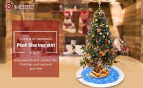 d fantix 36 inch velvet tree skirt