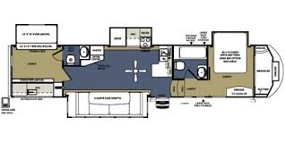 Forest River 5th Wheel Floor Plans 2014 Sierra By Forest River Fifth Wheel Series M 376bhok Specs And