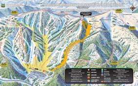 Keystone Colorado Map by Monarch Mountain Trail Map