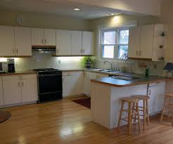 Painted Wooden Kitchen Cabinets Painting Laminate Cabinets Ideas