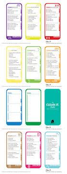 house checklist cleaning checklist free printable