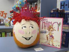 our fancy nancy pumpkin that won place in the contest