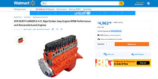 jeep crate hey cool you can buy a rod jeep crate engine from walmart now