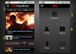 cnn app for android cnn headlines dashboard android appstorm
