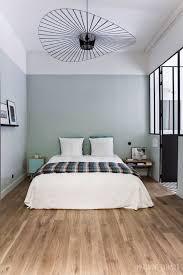 chambre verte et blanche salle de bain chambre optimisez 2 espaces en 1 espace salle