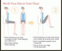 Desk Exercises At Work Ab Exercises At Your Desk Dr Elena Volfson Medical Blog