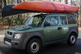 Ford Escape Roof Rack - how to strap a canoe or kayak to a roof rack