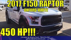 Classic Black Ford Svt Raptor - 2018 ford f150 raptor oxford white exterior walkaround first