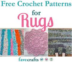 crochet rug patterns free 17 free crochet patterns for rugs favecrafts