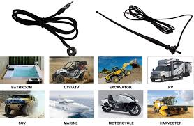 Radio Antennas For Rvs Marine Waterproof Boat Rubber Duck Dipole Flexible Car Fm Am Radio