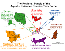 Map Of Mid Atlantic States by Anstf Regional Panels