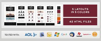 shopping bag responsive ecommerce email template by smythemes