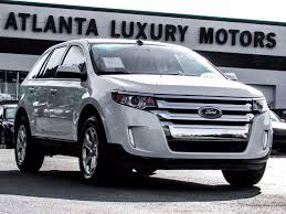 2013 used ford edge 4dr sel fwd at alm gwinnett serving duluth ga