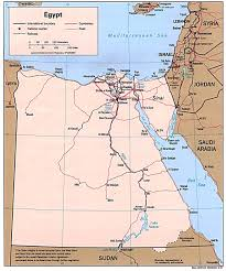 Blank Map Of Egypt by Map Of Egypt A Source For All Kinds Of Maps Of Egypt