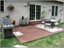 Cement Patio Table Remarkable Cement Patio Table Paint Ideas Concrete Patio Floor