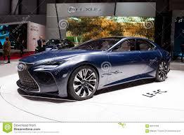 lexus lfa concept lexus lf fc concept editorial stock image image of automotive