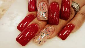 red gel nail designs image collections nail art designs