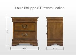 Locker Bedroom Furniture by Double Bedroom Furniture Set Louis Philippe