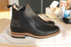 buy boots with paypal fs viberg chelsea boots black horsehide size 8 2050 last