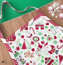 diy children u0027s holiday apron bugaboocity