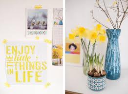 Wohnzimmer Deko Gelb Frühlingsdeko Mit Jeder Menge Gelb Leelah Loves