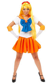Halloween Costumes Sailor Moon Amazon Sailor Moon Venus Costume Clothing