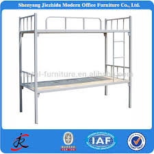 3 Level Bunk Bed Cheap 2 Level Iron Steel Adult Loft Bunk Bed Metal Double Decker