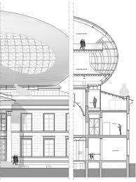 bierman henket architect u0027s cloud based museum design archpaper com